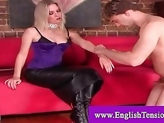 Mistress pleased by her servant